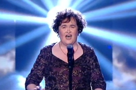 Susan Boyle May 24 Semi Final Picture
