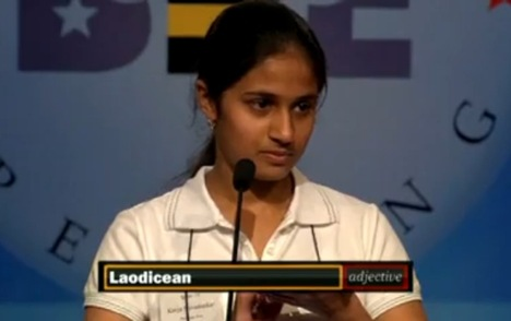 Picture of Kavya Shivashankar 2009 National Spelling Bee Winner