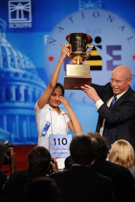 Spelling Bee 2009 Winner Kavya Shivashankar Photo