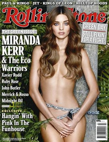 Miranda Kerr Rolling Stone Cover Photo