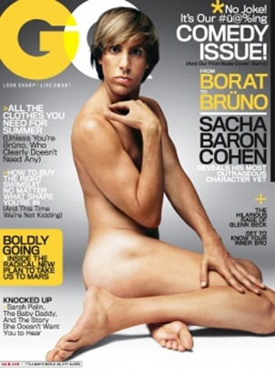 Bruno Sacha Baron Cohen GQ Magazine July 2009 picture