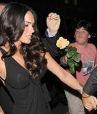 Megan Fox Snubbed Rose Boy Harvii picture