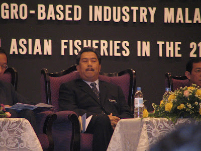 Malaysia Vice Prime Minister Muhyiddin Yassin then as Agriculture Minister in 2004