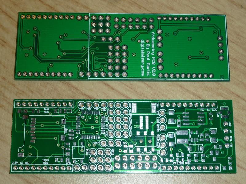 Arduemetry V2.0 PCBs