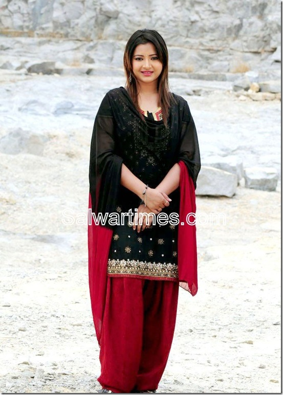 Swetha Basu_Black_Designer_Salwar_Kameez