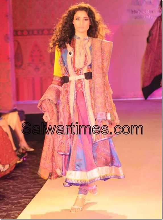 Designer Salwar Kameez by Ritu Kumar Anarkali Salwar Kameez at Ritu