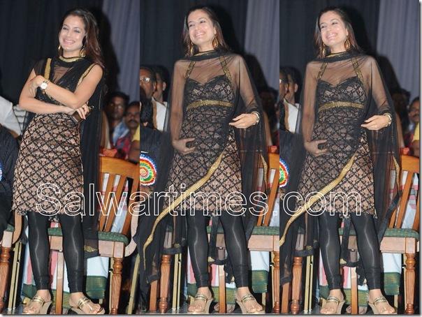 Amisha_patel_Black_Designer_salwar_kameez