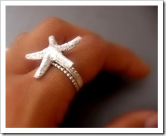 Close to Shore - Sterling Silver Starfish Ring