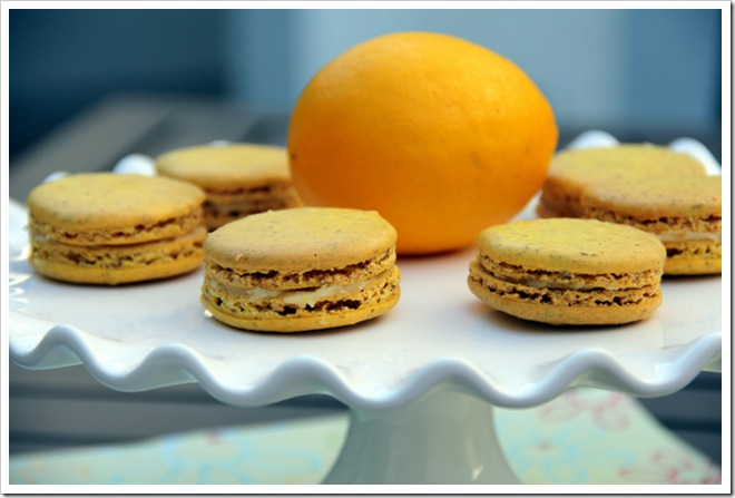 Meyer Lemon Macarons 2