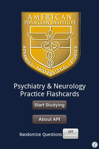 【免費醫療App】Psychiatry & Neuro Flashcards-APP點子
