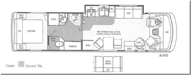 99 Endeavor Floor Plan