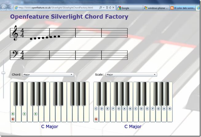 SilverlightChordFactory