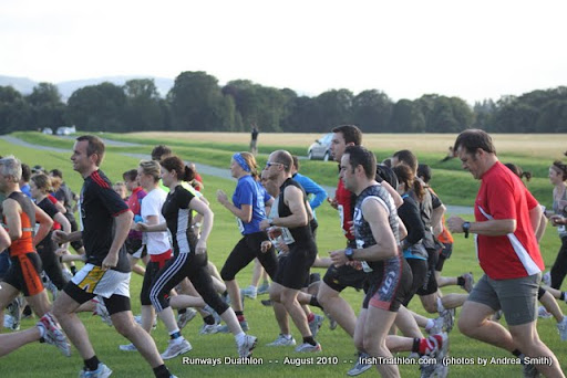 Duathlon Run start