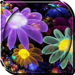 Glowing Flowers Live Wallpaper 1.0 Apk