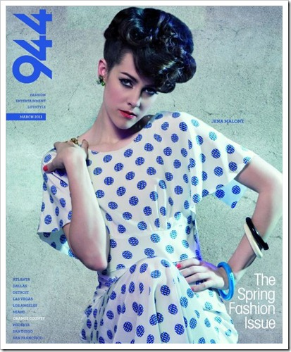 944 Magazine Cover March 2011
