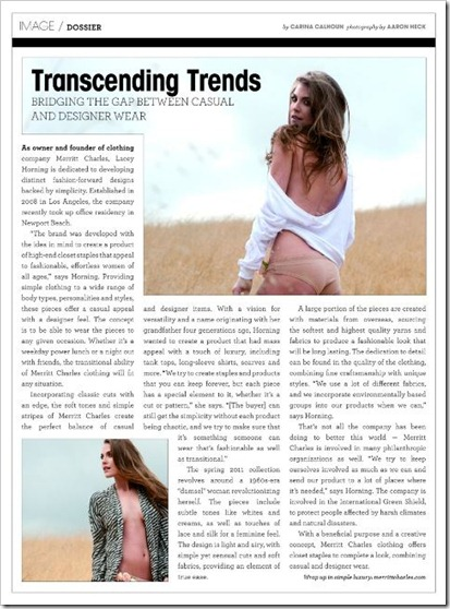 944 Orange County Magazine Article