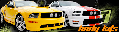 Body kit for muscle car