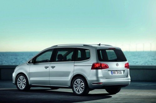 New VW Sharan