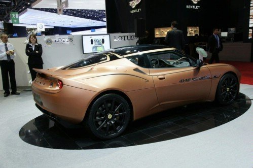 Lotus has presented Evora 414E Hybrid