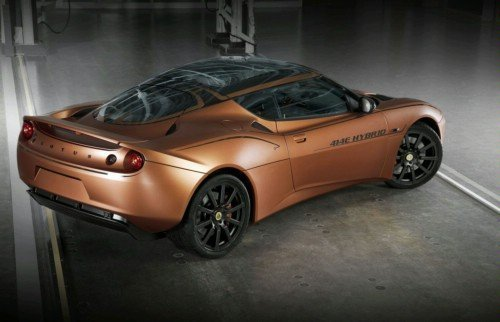 Hybrid coupe Evora