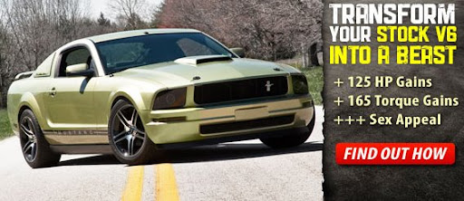 V6 Mustang Project Car