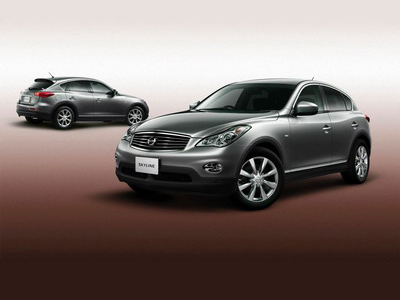 Nissan represents crossover Skyline