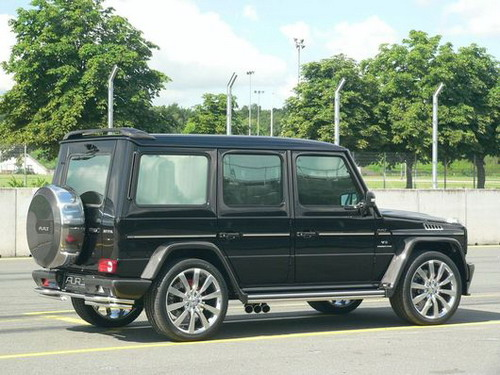 Mercedes-Benz G55 AMG For Royal Family