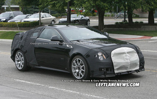 Cadillac CTS-V Coupe: the prepremier test