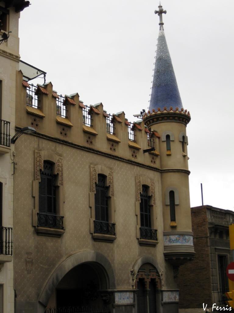 Casa comas d 39 argemir barcelona modernista - Casas modernistas barcelona ...