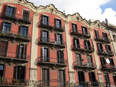 Casas josep j bertrand barcelona modernista for Inmobiliarias barcelona