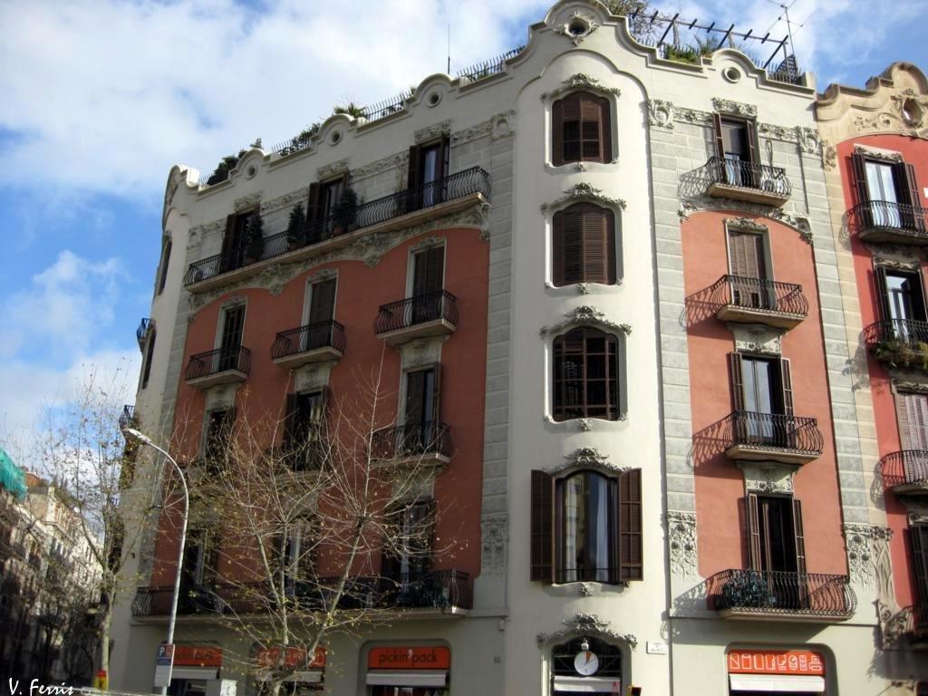Casa josep j bertrand i barcelona modernista - Casa modernista barcelona ...