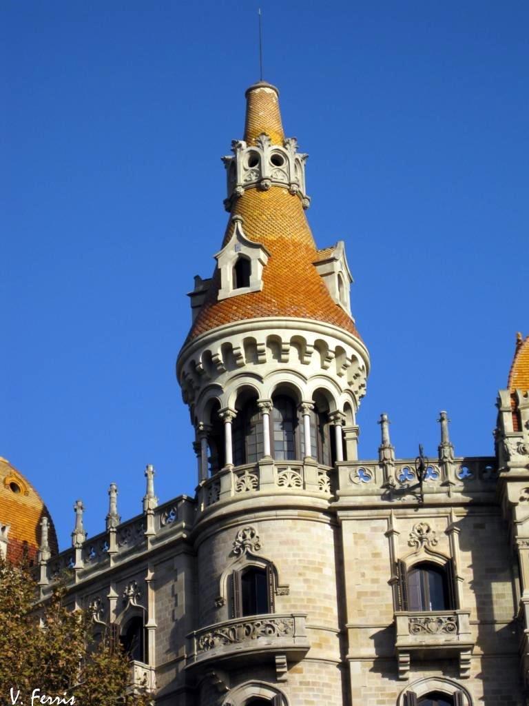 Casas antoni rocamora barcelona modernista for Inmobiliarias barcelona