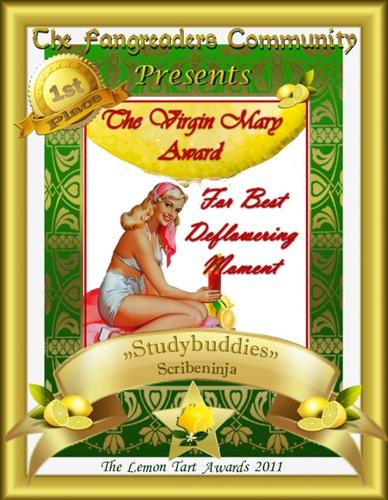 The Virgin Mary Award 1st Place