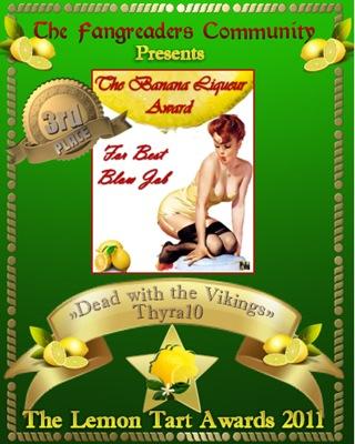 The Banana Liqueur Award 3rd Place tie