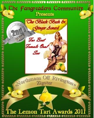 The Black Bush & Ginger Award 2nd place
