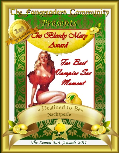The Bloody Mary Award 1st Place