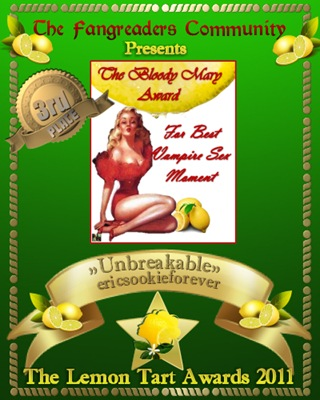 The Bloody Mary Award 3rd Place