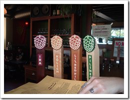 image of the Double Mountain tap handles courtesy of our Flickr page
