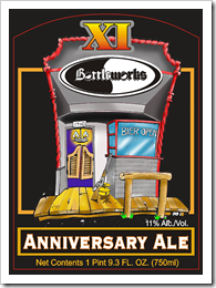 image of Big Sky Bottleworks XI Anniversary Ale courtesy of Bottleworks' website