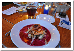 image Grilled Alasakn King Salmon with house bacon, roasted fennel, and red wine courtesy of our Flickr page