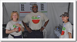 image Great Arizona Picnic Volunteers, Maureen Tim and Missy? courtesy of our Flickr page