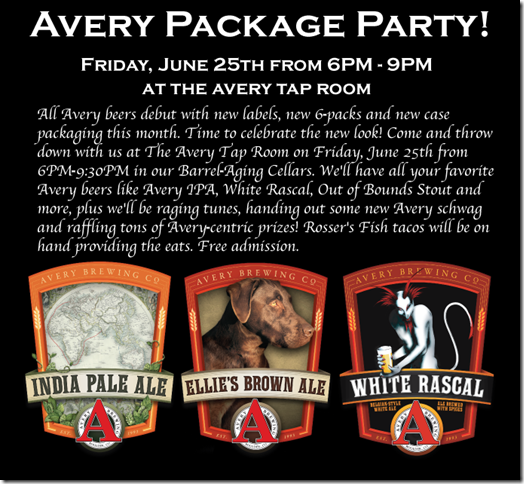 nw coming soon familiar beers with new labels from avery brewing