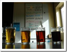 image of Chuckanut Brewery & Kitchen's sampler tray courtesy of GLKaiser's Flickr page