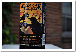image of Alaskan's Double Black IPA courtesy of our Flickr page