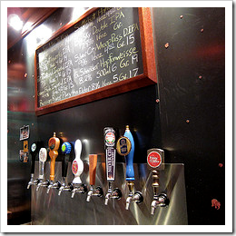 image of Bottleworks' expanded tap lineup, courtesy of Russ+