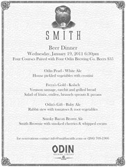Odin Dinner at Smith courtesy of Smith