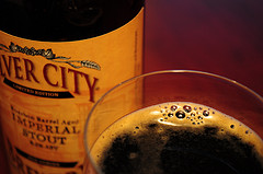 image of Silver City's Bourbon Barrel-aged Imperial Stout, courtesy of our Flickr page