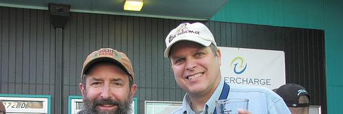image of John Maier and Allaboutbeer.com's Banjo Bandolas courtesy of Rogue Ales' Flickr page
