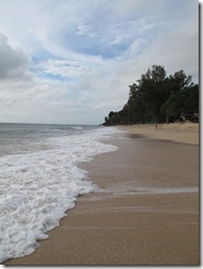 Phra Ae Beach waves north