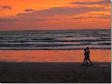 sunset Klong Dao Lanta